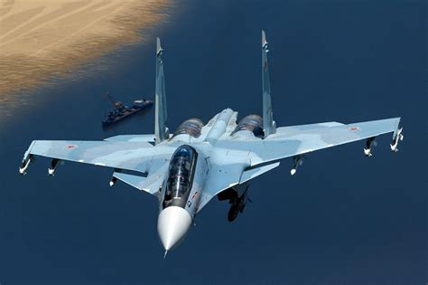 Su-30SM fighter jet officially accepted into VVS service