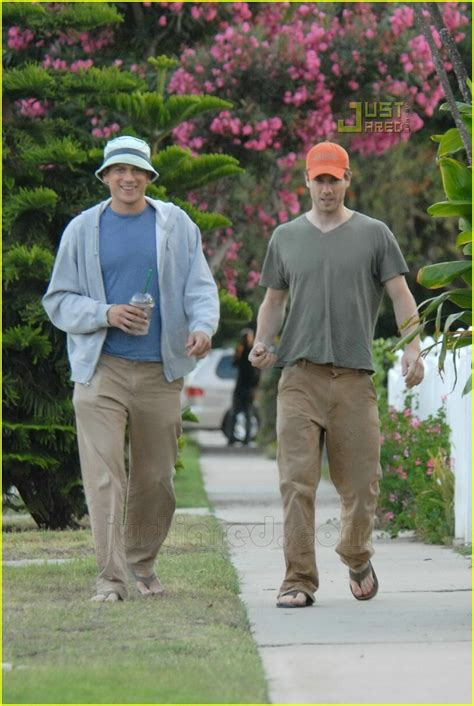 Luke MacFarlane Steps Out with Wentworth Miller: Photo