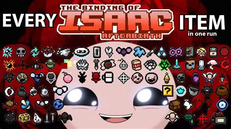 The Binding of Isaac Afterbirth - Every Afterbirth item in