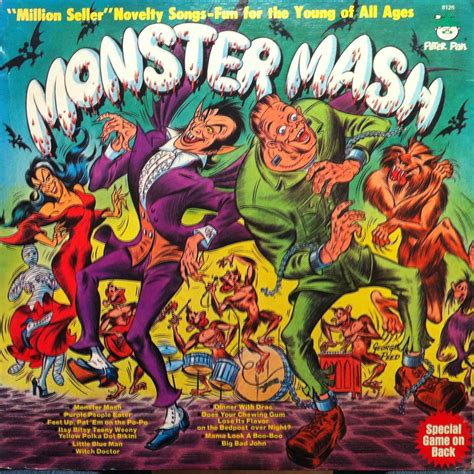Beyond 'Monster Mash': 20 Novelty Songs from the Mid
