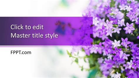 Free Lilac PowerPoint Template - Free PowerPoint Templates