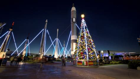 Celebrate 'Holidays in Space' at Kennedy Space Center