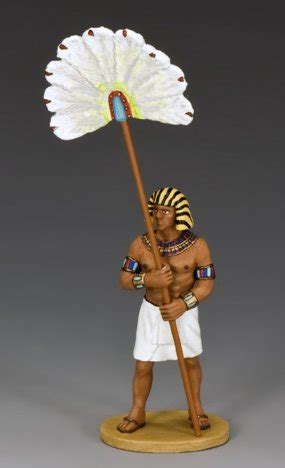 The New Fan Bearer|Toy Soldier|Military Miniature|Ancient