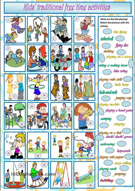 Pin by Natalia on ESL 2 | Free time activities, Reading