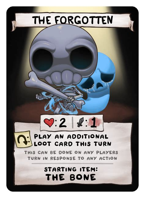 The Forgotten - The Binding of Isaac: Four Souls Wiki