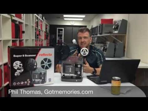 Reflecta Super 8 Movie Film Scanner Review - YouTube