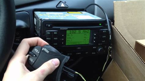 Steering Column Controls working with Ford Focus Blaupunkt