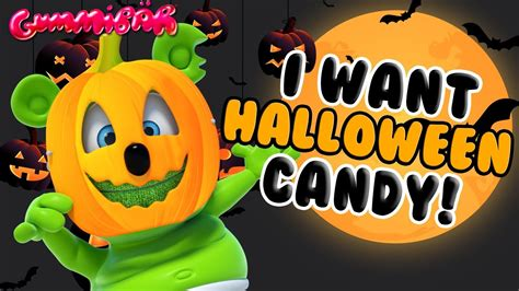 I Want HALLOWEEN Candy GUMMY BEAR SONG Halloween Song by